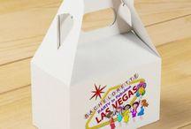 Las Vegas Gable Favor Box