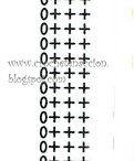 letras y numeros crochet