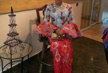 blouse & wrapper