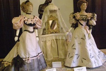 Les Petite Dames de Mode / Dolls in historical costume by John Burbidge