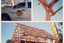 On Site / This board includes photos from our on site installations and our crew hard at work