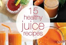 Recipes for my New Juicer