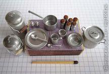 dollhouse Kitchen utensils