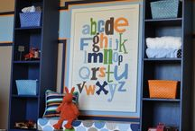 Playroom ideas  / by Kimberly GFJ Clothing Co