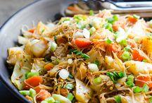 Vegan rice noodles