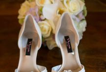 Wedding Shoes / Photo of gorgeous shoes from the brides and bridesmaids from weddings photographed by our studio.