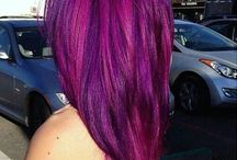 Different colour hair