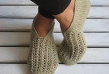 handknitted Slippers