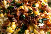 Sweet Corn Recipes / One of my favorite things to do in summer is buy fresh sweet corn from the farmer down the road. Get yourself some this August and try these recipes.