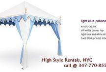 CABANAS as styled by High Style Rentals