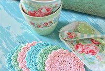 ♡ onderzetters haken / crochet coasters