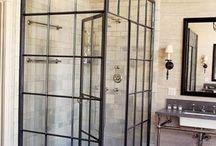 metal and glass