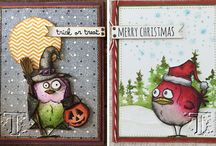 Card Ideas - Tim Holtz Bird Crazy / This board is dedicated to those Crazy Birds