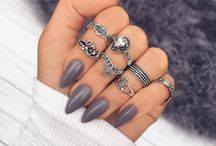 Stiletto nails Homemade