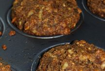 carrot n apple muffins