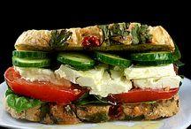 sandwiches / by Maria Heredia-Edie