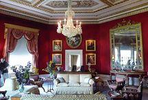 Zámky a interiéry