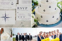 Nautical Weddings / Inspiration for nautical weddings. #classic #nautical #weddings