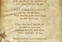 missing you  <3 / by Barbara Hager Mathis