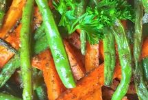 carrots and green beans