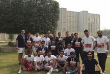 Team Vana and Team Therapiya at the Airtel Delhi Half Marathon, November 29, 2015