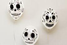 Decor for De Los Muertos Party / by Orissa Barnhill