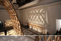 Wood structure architecture