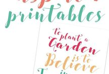 posters and printables
