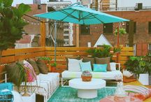 Terrazas / Para que tu terraza sea más que un espacio para estar al aire libre.