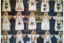 Christmas cakes made by Mallenka