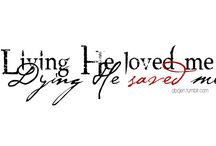 YOU'RE MY INSPIRATION  / You are my STRONG TOWER, shelter over me, BEAUTIFUL and MIGHTY, EVERLASTING KING!!  everything about My Savor GOD!! / by Jessica Snyder