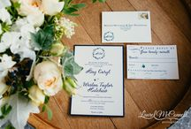 Navy Blue and Sage Pacific Northwest Winery Wedding / Jubilant locally-sourced, PNW, navy blue and sage Columbia Winery wedding near Seattle, Washington.