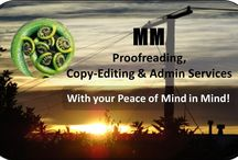 Copy-Editing / Copy-editing services, thinking, suggestions
