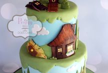 Once upon a time... story cakes