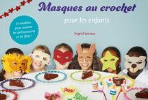 Masques au crochet by Hooklook / Mask crochet disguise