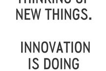 Innovation / Constant Quest for Improvement
