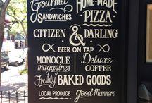 Bistros / Restaurants and Cafes