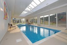 Spectacular Swimming Pools / A collection of properties we are selling or have sold with swimming pools in Surrey.   To see more, visit our website www.curchods.com