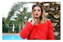 Diamond-New Collection of Adelide Squidieri / Model Chiara Aronne Stylist Adeliade Squidieri Make up artist Nuny Capuozzo  Hair stylist Alfredo Cesarano
