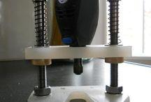 фрезерная подставка для дремела 2