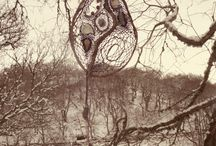 Fae da Tay Dreamcrafts /  Inspiration from the immediate environment translated into dreamcatchers