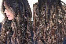 Maquillaje de cabello