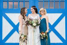 Boho Wedding ideas / Creative ideas for bohemian wedding theme