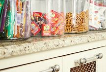 storage ideas / by Caitlin Storck
