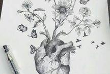inspirujące rysunki