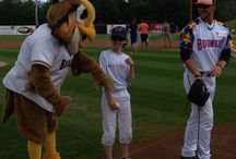 Boomer's Game / Schaumburg Boomers baseball team donated to the Autism Society of Illinois