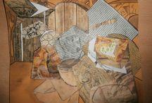 El desayuno cubista/fauvista / Tarea para Dibujo Artístico en la que el alumnado debe demostrar lo aprendido  hasta ahora acerca de percepción de la forma,  el encaje, la luz, la composición, el color, la textura, el claroscuro, la perspectiva, etc. ¿Cómo?  Pues pintando su  propio desayuno desde un punto de vista cubista o fauvista.