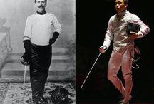 Olympische sport in beeld: Vroeger en nu.