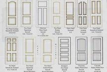 Armario salón - puertas