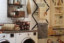 Laundy Room..* And Storage Ideas
